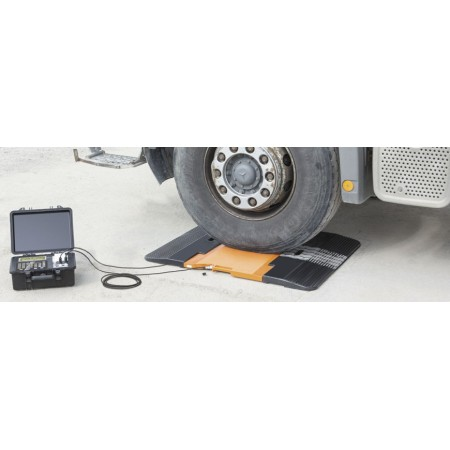 Axle load scales